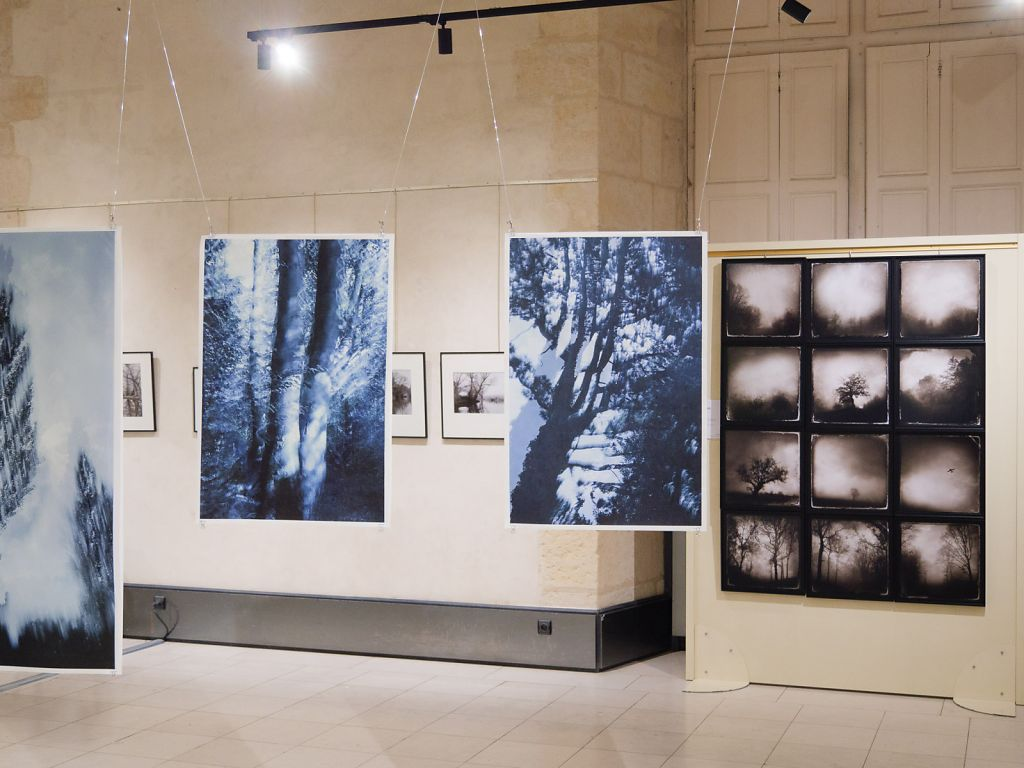 View into the exhibition, on the right the work of fellow artist LiLiRoze