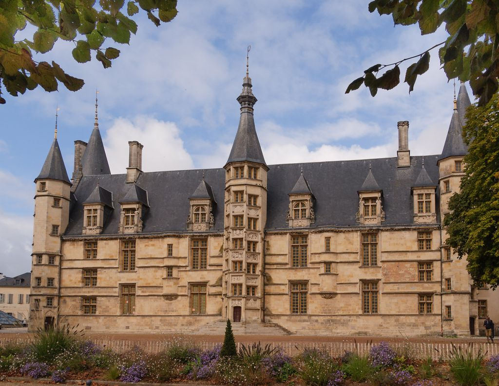 Exhibition venue Palais Ducal in Nevers, France Bourgogne