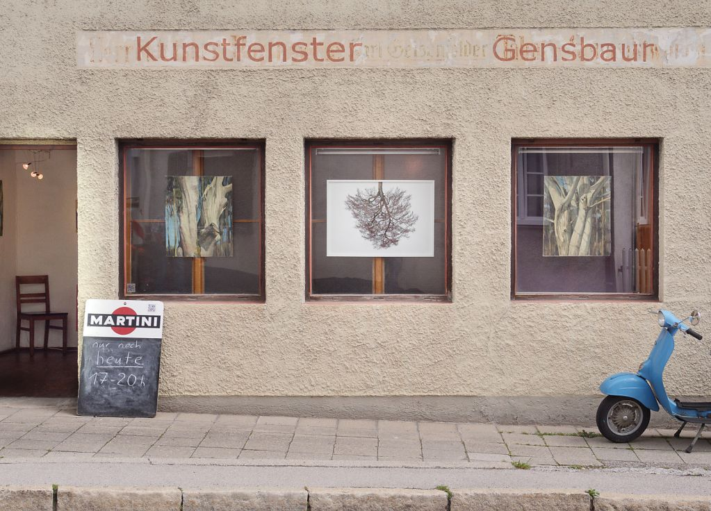 Our starting point: KUNSTFENSTER of Martin Gensbaur, exhibition May 19
