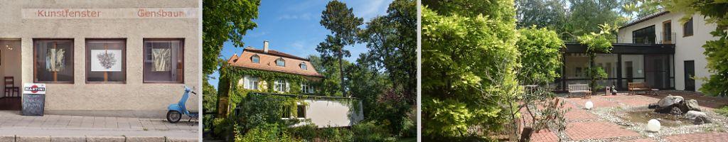 Three beautiful venues: KUNSTFENSTER Dießen, Abbey VENIO Munich, Haus der bayerischen Landwirtschaft Herrsching